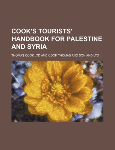 9781459042988: Cook's Tourists' Handbook for Palestine and Syria