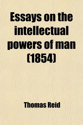 9781459048263: Essays on the Intellectual Powers of Man