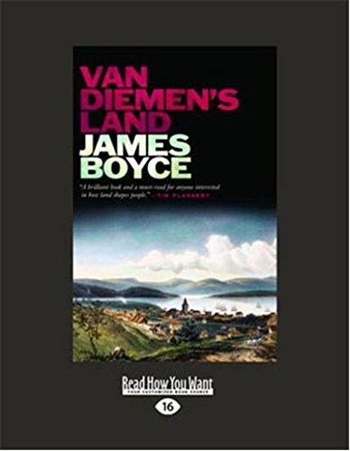 Van Diemens Land (Large Print 16pt): James Boyce