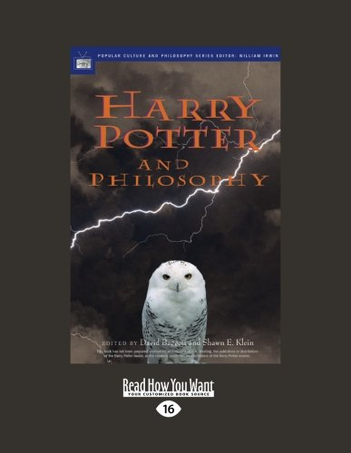 9781459601055: Harry Potter and Philosophy: If Aristotle Ran Hogwarts
