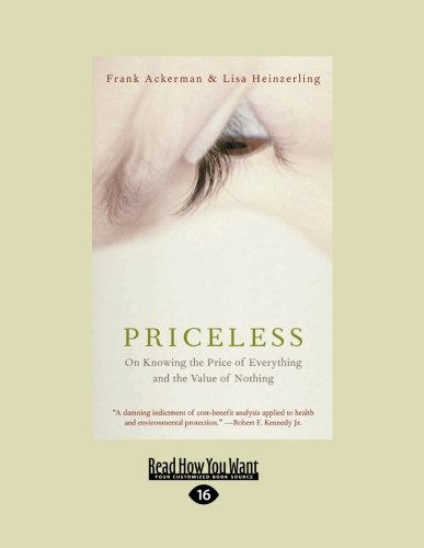 9781459604254: Priceless: On Knowing the Price of Everything and the Value of Nothing (Large Print 16pt)