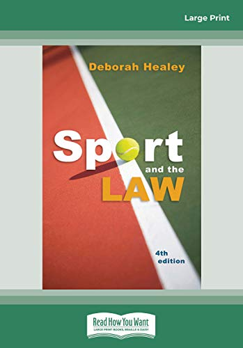 9781459604490: Sport and the Law 4th Edition