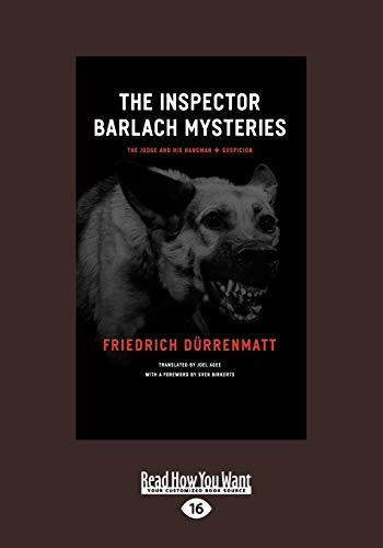 9781459606098: The Inspector Barlach Mysteries: The Judge and His Hangman and Suspicion
