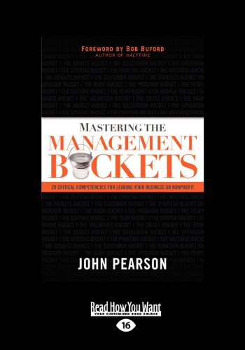 Mastering the Management Buckets (1 Volume Set): John Pearson