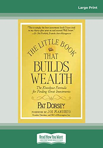 The Little Book That Builds Wealth (1459607155) by Pat Dorsey