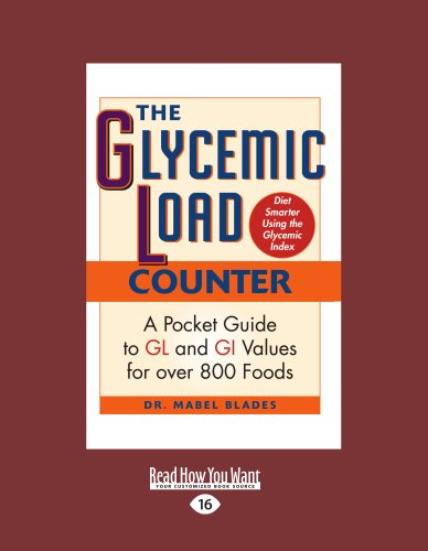 9781459607316: The Glycemic Load Counter: A Pocket Guide to GL and GI Values for Over 800 Foods