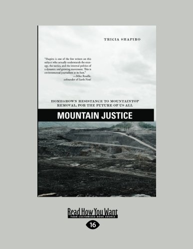 9781459607804: Mountain Justice: Homegrown Resistance to Mountaintop Removal, for the Future of Us All