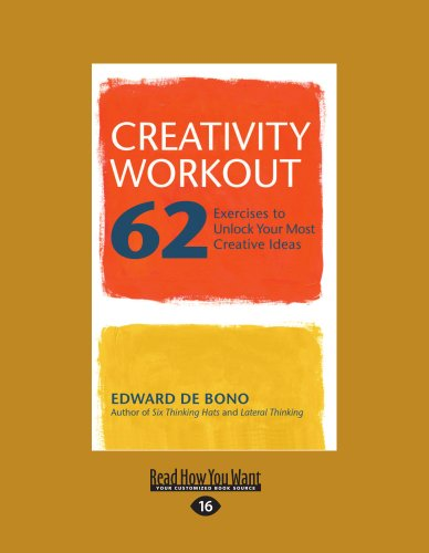 9781459610644: Creativity Workout: 62 Exercises to Unlock Your Most Creative Ideas (Large Print 16pt)