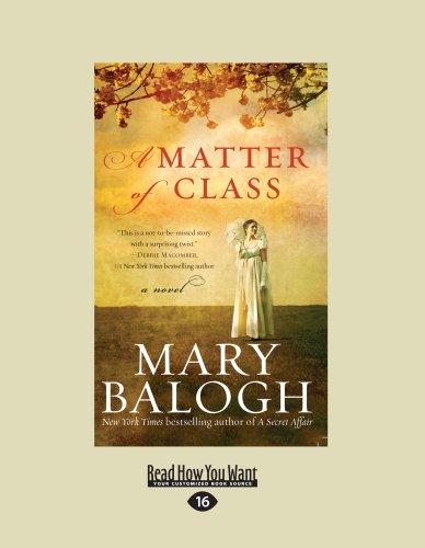 9781459612549: A Matter of Class