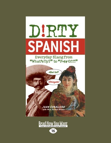 9781459613607: Dirty Spanish: Everyday Slang from