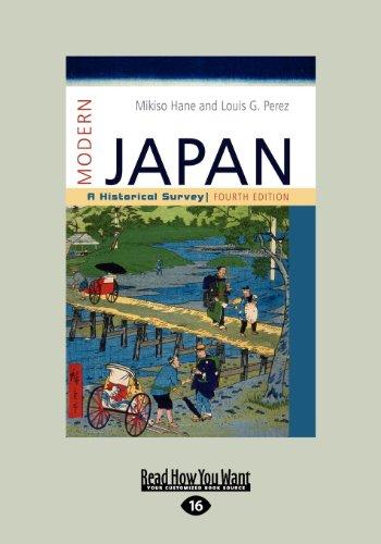 9781459614420: Modern Japan: A Historical Survey (Large Print 16pt)
