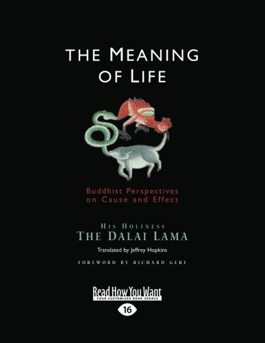 9781459614505: The Meaning of Life: Buddhist Perspectives on Cause and Effect