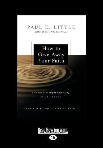 9781459615953: How to Give Away Your Faith: (Revised Edition) (Large Print 16pt)