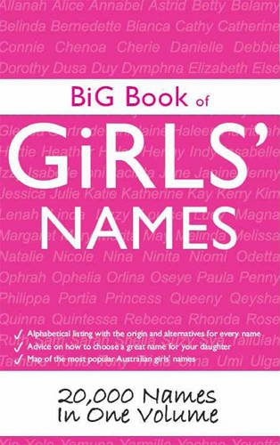9781459616516: Big Book of Girl's Names: 20,000 Names in One Volume
