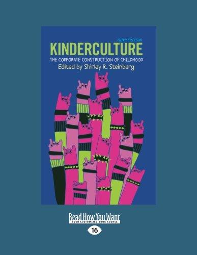 9781459617179: Kinderculture (Large Print 16pt)