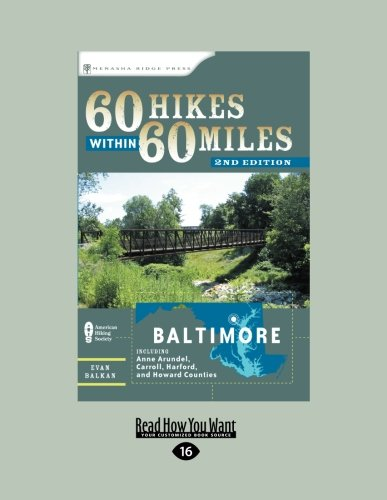 9781459618121: 60 Hikes Within 60 Miles: Baltimore 2ed
