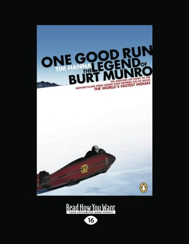 One Good Run: Tim Hanna