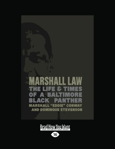9781459620506: Marshall Law: The Life & Times of a Baltimore Black Panther