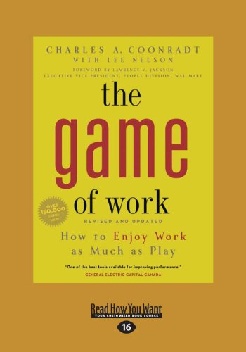 9781459620636: The Game of Work (Large Print 16pt)