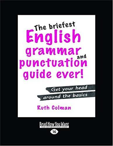 9781459623330: The Briefest English Grammar and Punctuation Guide Ever! (1 Volume Set)