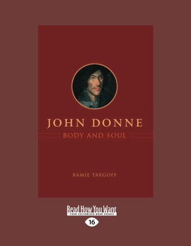 9781459627178: John Donne, Body and Soul