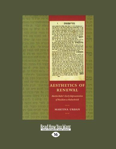 9781459627598: Aesthetics of Renewal: Martin Buber's Early Representation of Hasidism as Kulturkritik