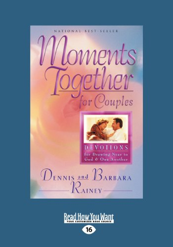 9781459631731: Moments Together for Couples: Devotions for Drawing Near to God and One Another (Large Print 16pt)