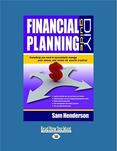 9781459632585: Financial Planning DIY Guide: Everything You Need to Successfully Manage Your Money and Invest for Wealth Creation