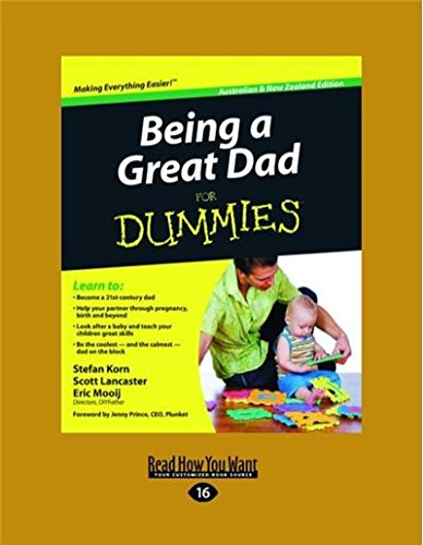 9781459632608: Being a Great Dad for Dummies: Australian & New Zealand Edition