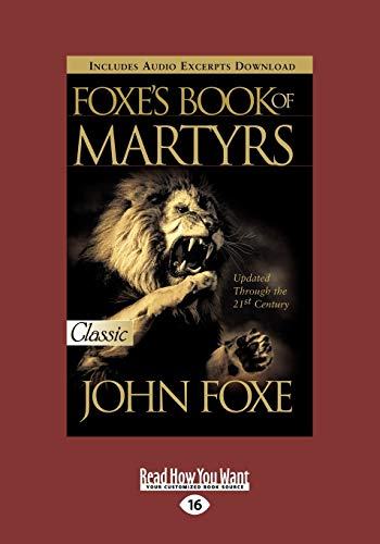 9781459633193: Foxes Book of Martyrs