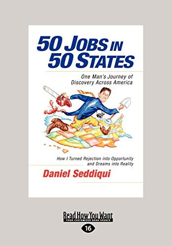 9781459633391: 50 Jobs in 50 States: One Man's Journey of Discovery Across America (Large Print 16pt)