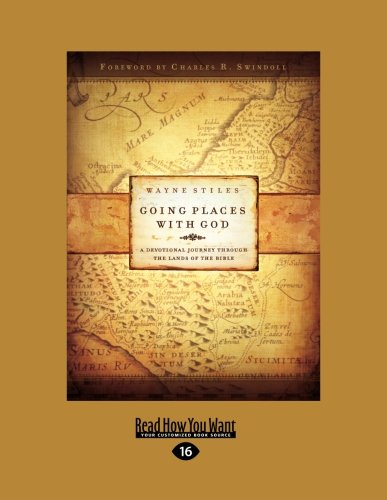 9781459633575: Going Places With God: A Devotional Journey Through the Lands of the Bible