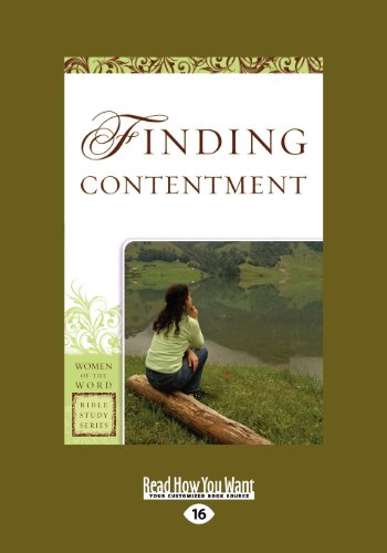 9781459633872: Finding Contentment (Women of the Word Bible Study): Women of the Word: Bible Study Series