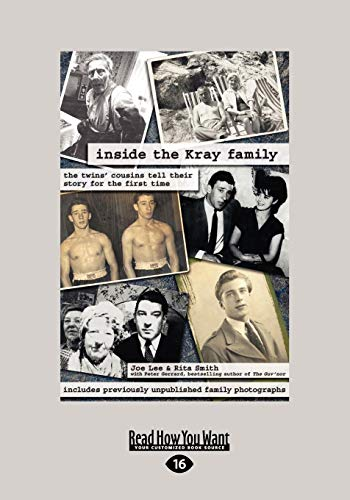 9781459634909: Inside the Kray Family: The Twins' Cousins Tell Their Story for the First Time