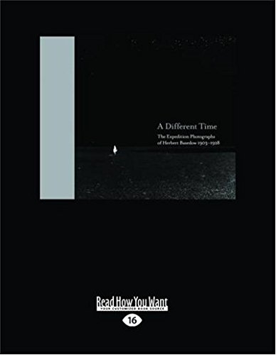 9781459637276: A Different Time: The Expedition Photographs of Herbert Basedow 1903-1928