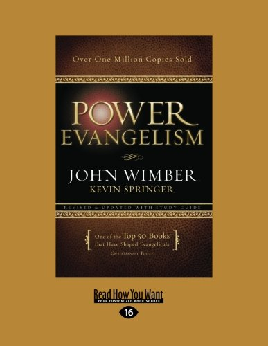 9781459639409: Power Evangelism (Large Print 16pt)