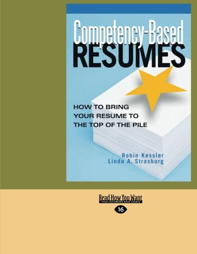 competency based resumes bring resume by robin kessler abebooks