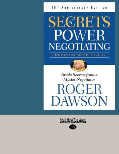 9781459639867: Secrets of Power Negotiating, 15th Anniversary Edition: Inside Secrets From a Master Negotiator
