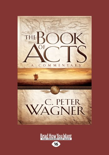 9781459643932: The Book of Acts: A Commentary (Large Print 16pt)