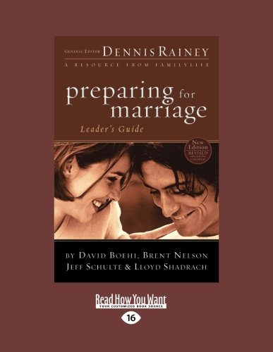 9781459643994: Preparing for Marriage Leader's Guide