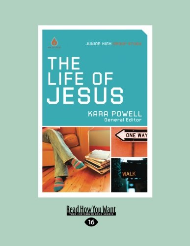 9781459644380: The Life of Jesus: Junior High Group Study