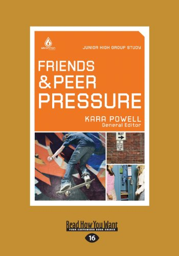 9781459644496: Friends and Peer Pressure: Junior High Group Study (Large Print 16pt)