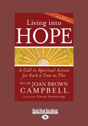 9781459645028: Living into Hope: A Call to Spiritual Action for Such a Time as This