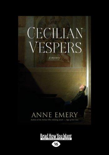 9781459652187: Cecilian Vespers: A Mystery
