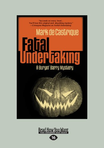 9781459656062: Fatal Undertaking: A Buryin Barry Mystery