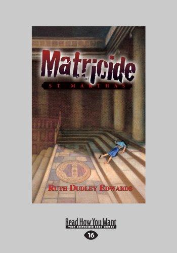 9781459656215: Matricide at St. Martha's (Large Print 16pt)