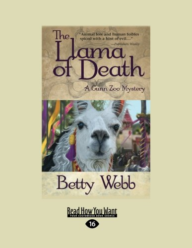 9781459657137: The Llama of Death: A Gunn Zoo Mystery