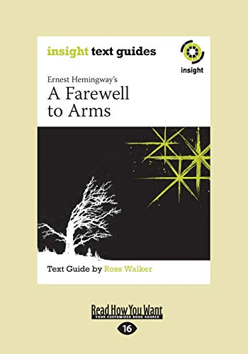 9781459659964: A Farewell to Arms: Insight Text Guide