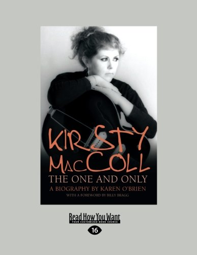 9781459662155: Kirsty MacColl: The One and Only