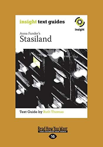 9781459662230: Stasiland (Large Print 16pt)